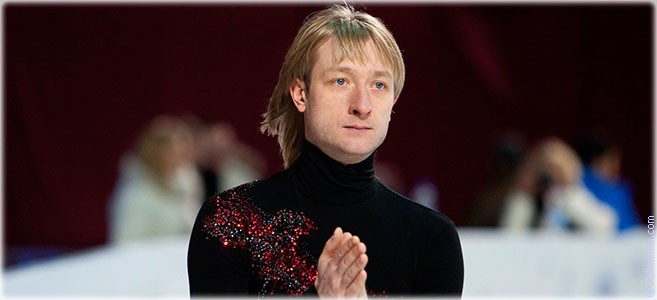 Сегодня родился фигурист Евгений Плющенко