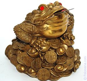 Денежная жаба по Фен-Шуй для привлечения денег