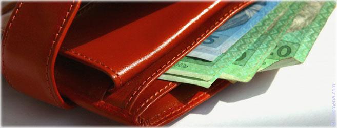 Магия денег красный кошелек заговор на хорошие деньги