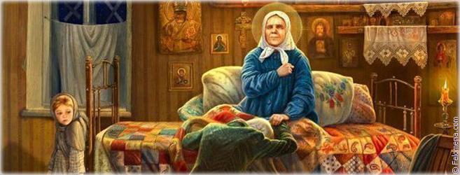 Помощь Святой Матроны