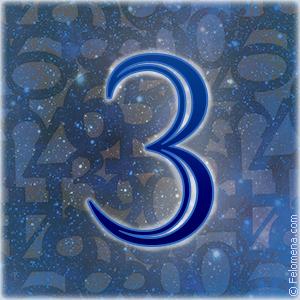 Значение числа 3 (три) в нумерологии