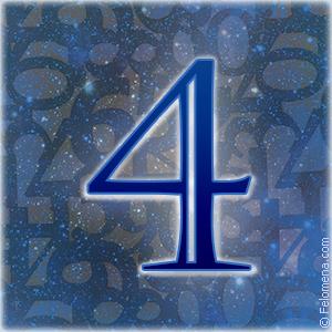 Значение числа 4 (четыре) в нумерологии