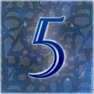 Значение числа 5 (пять) в нумерологии