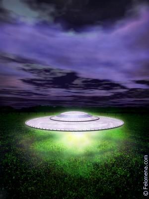 Сонник Неопознанный летающий объект (НЛО)
